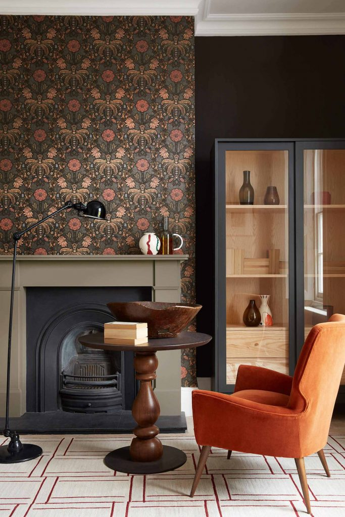 Little Greene New Bond Street Wallpaper