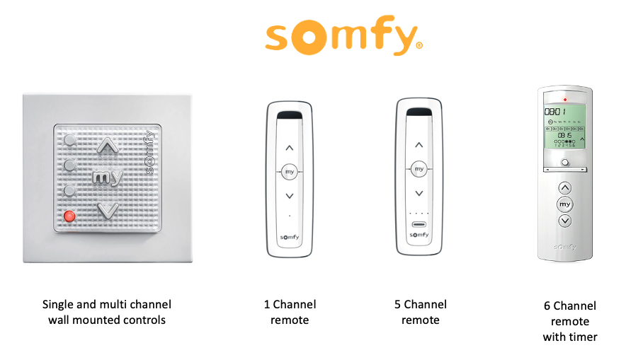 somfy controls rts the home of interiors