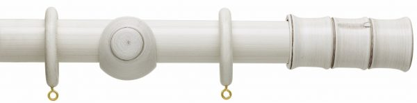 Hallis Origins 45mm Corded Wooden Curtain Pole Bamboo