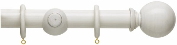Hallis Origins 45mm Corded Wooden Curtain Pole Ball