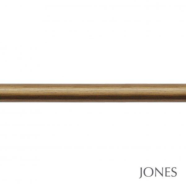 50mm Jones Florentine Curtain Pole only antique gold