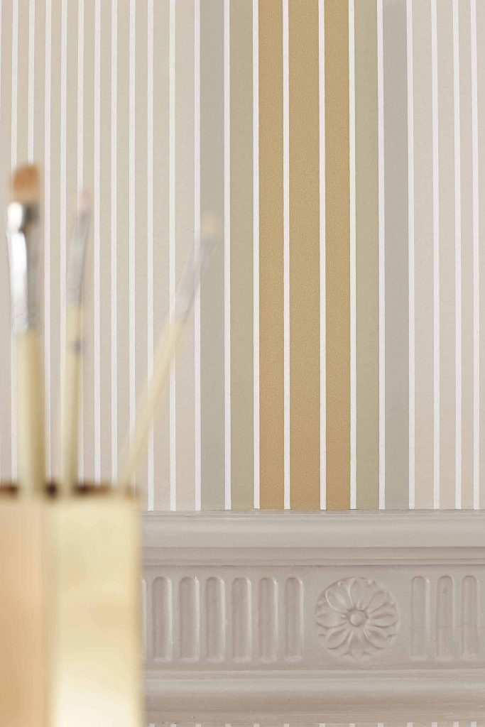 Ombré Stripe - Lichen-Doric_Little Greene Paint