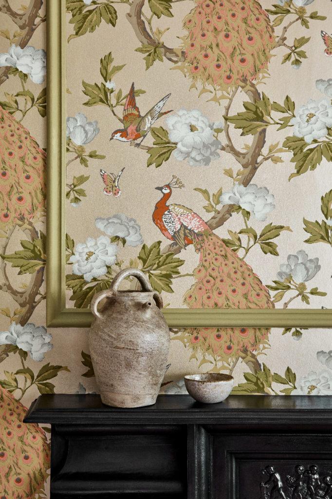 Little Greene Pavona Wallpaper