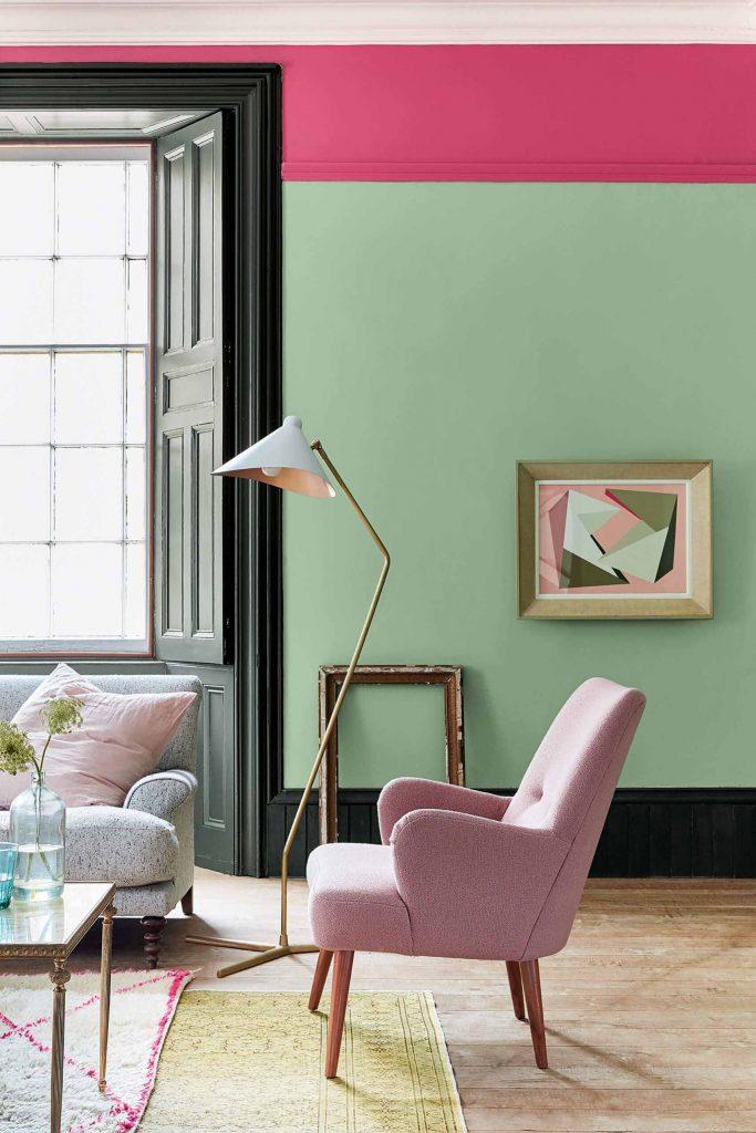 The Little Greene Paint Company Pea Green (91)