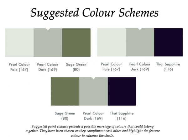 The Little Greene Paint Company Pearl Colour Dark (169)