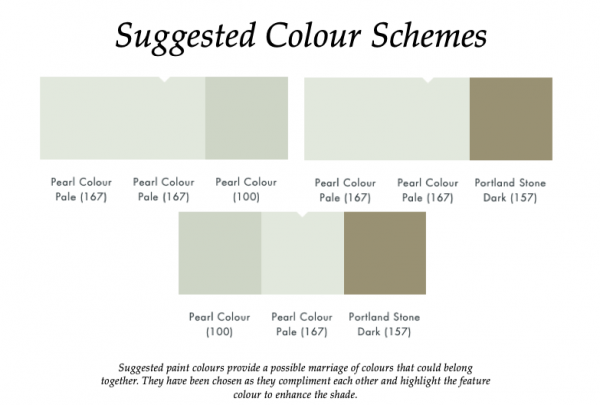 The Little Greene Paint Company Pearl Colour Pale (167)