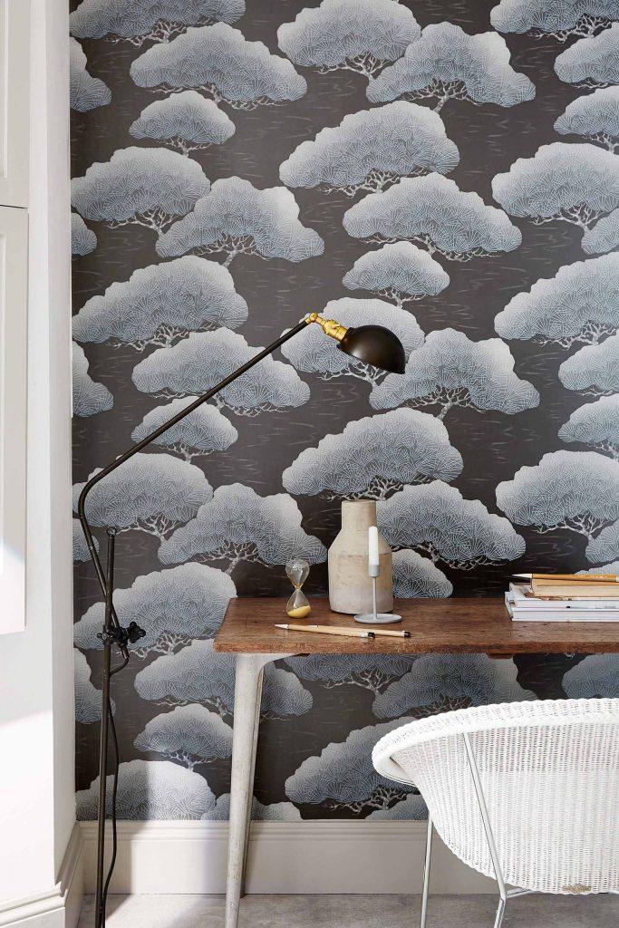 Little Greene Pines Wallpaper