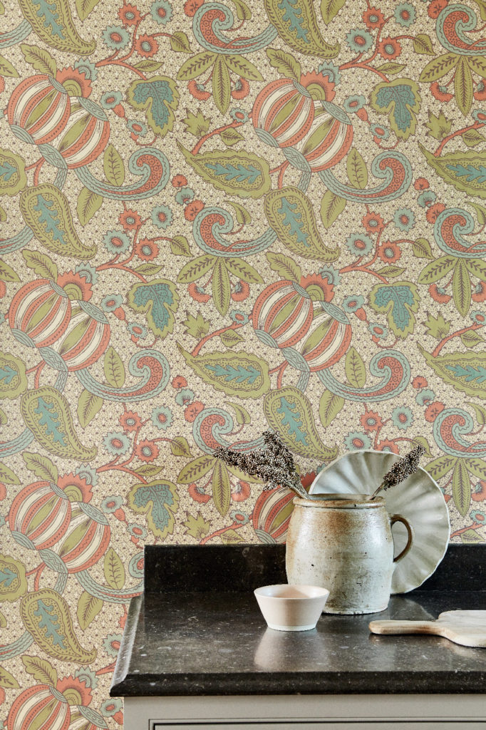 Little Greene Pomegranate Wallpaper