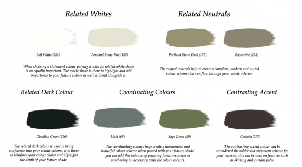 Little Greene Paint Complimentary Colours Portland Stone (77)