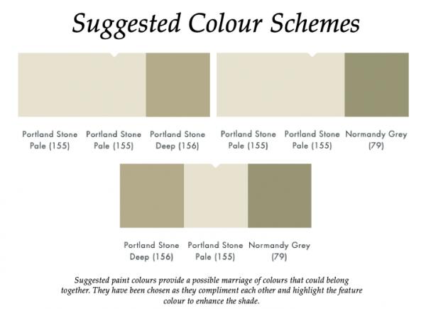 The Little Greene Paint Company Portland Stone Pale (155)