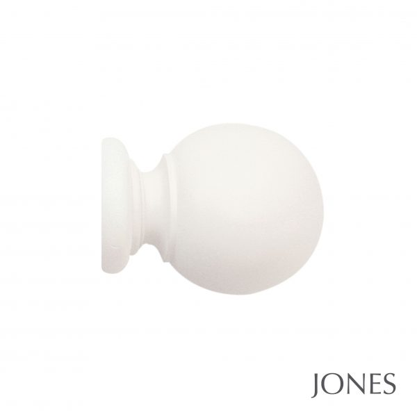 40mm Jones Seychelles Ball Finial cotton