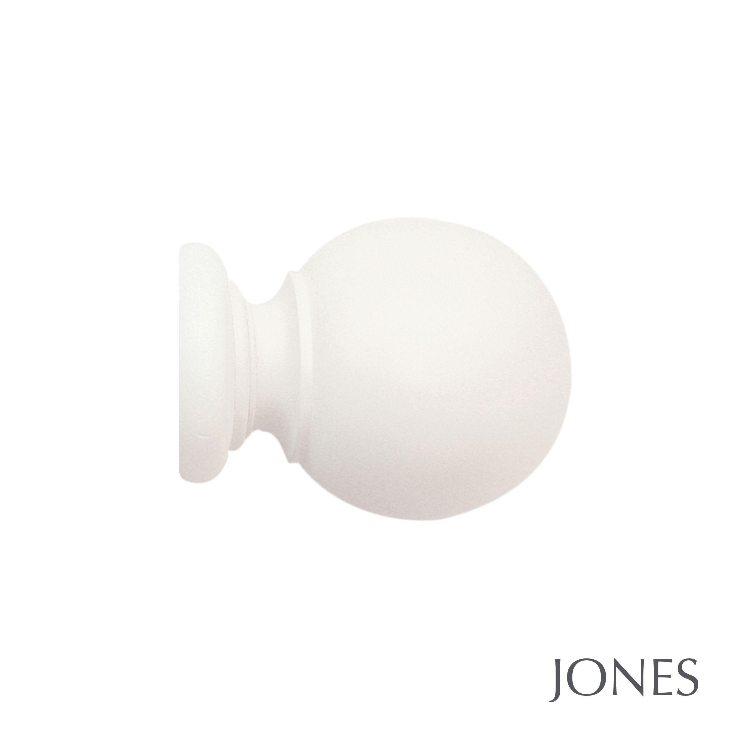 40mm Jones Seychelles Ball Finial cotton