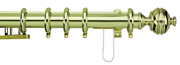 38mm Integra Royal Orb Curtain Pole