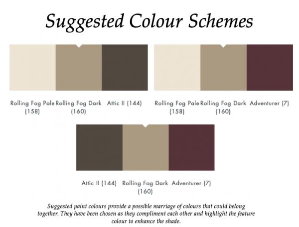 The Little Greene Paint Company Rolling Fog Dark (160)