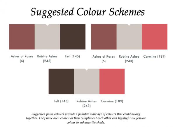 The Little Greene Paint Company Rubine Ashes (243)