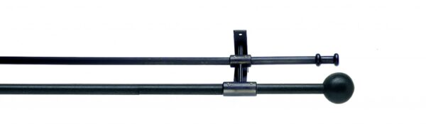 Artitsan Wrought Iron Double Curtain Pole 12mm / 16mm Cannon