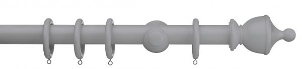Swish Romantica Urn 28mm Wood Curtain Pole