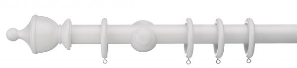 Swish Romantica Urn 35mm Wood Curtain Pole