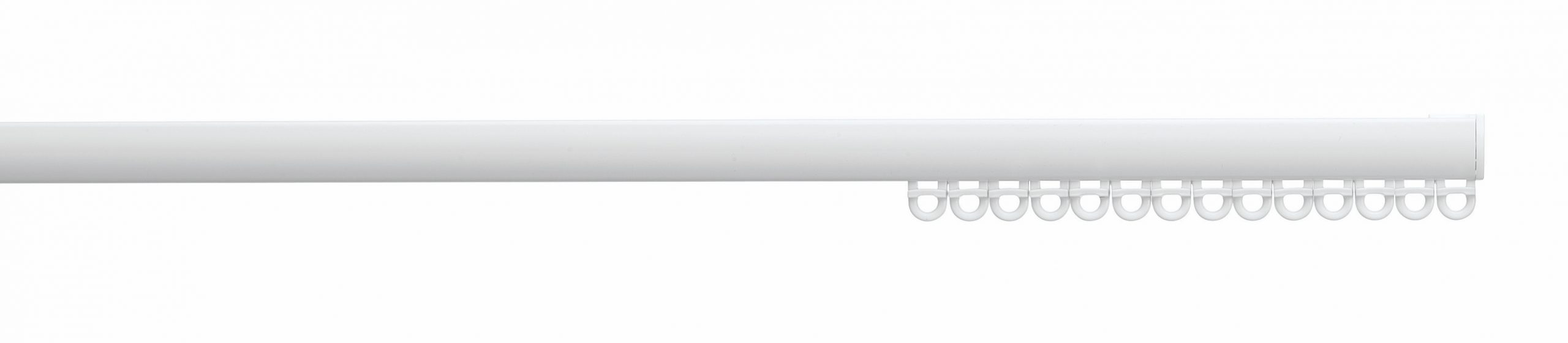 Silent Gliss System 6010 Uncorded  Aluminium  Curtain Track - suitable for wave curtains