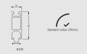 Silent Gliss 6100 Track Profile