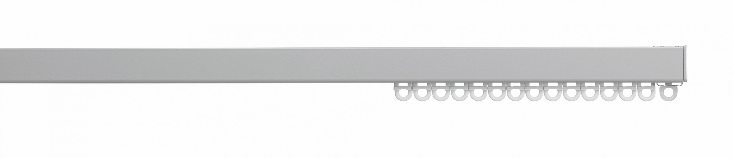 Silent Gliss System 6870 Uncorded  Aluminium  Curtain Track - suitable for wave curtains