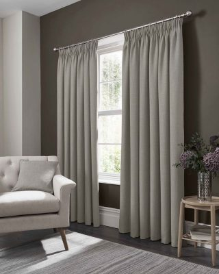 Studio G Elba Pencil Pleat Curtain