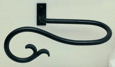 Artisan Wrought Iron Holdbacks Filigree