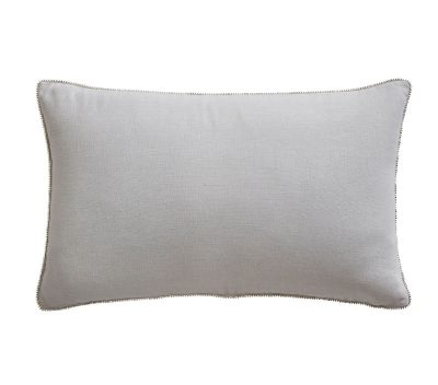 TESS DALY DIAMANTE TRIM BOUDOIR CUSHION