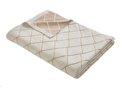 ESS DALY DIAMOND KNIT THROW