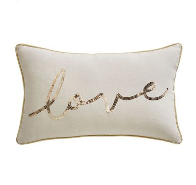 TESS DALY LOVE BOUDOIR CUSHION