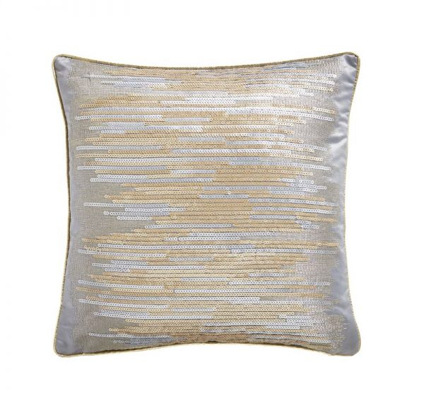 TESS DALY SHIMMER SEQUIN CUSHION