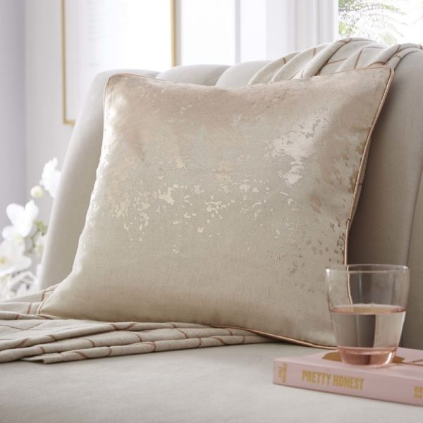 TESS DALY SPLATTER FOIL PRINT CUSHION 2
