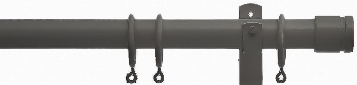 Cameron Fuller 32mm Metal Curtain Pole with Collar Finials
