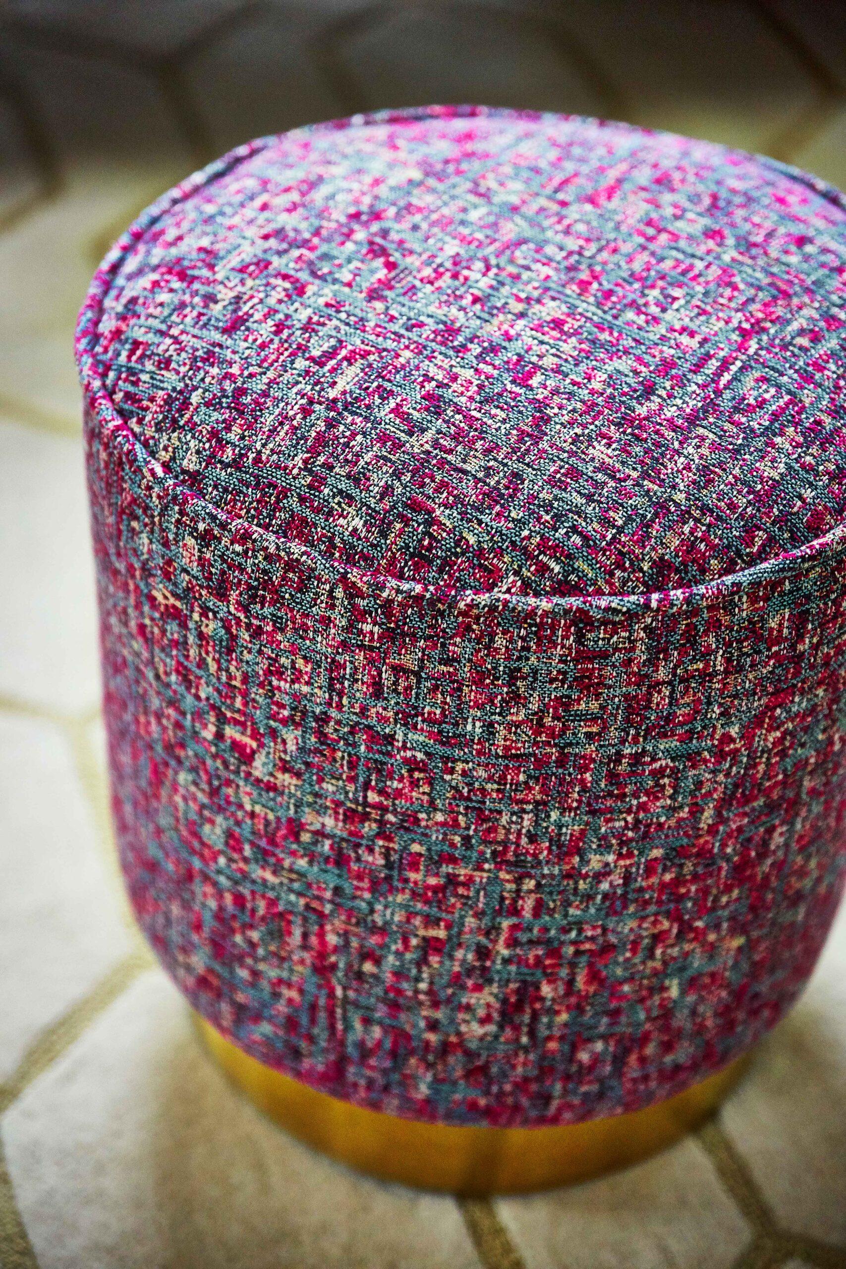 Harlequin Hamada Weaves Nickel Fabric