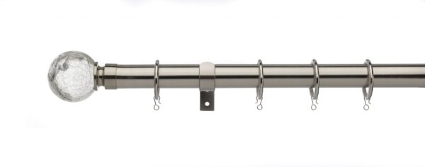 Universal 28mm Curtain Pole Glass