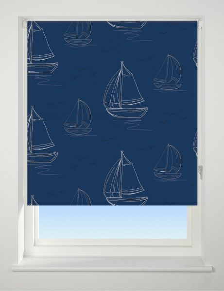 Universal Patterned Roller Blind Boats