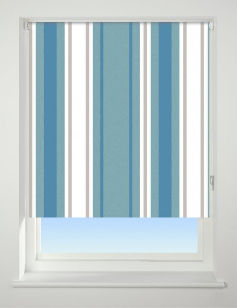 Universal Patterned Blackout Roller Blind Stripe
