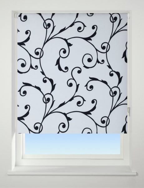 Universal Patterned Blackout Roller Blind Virginia