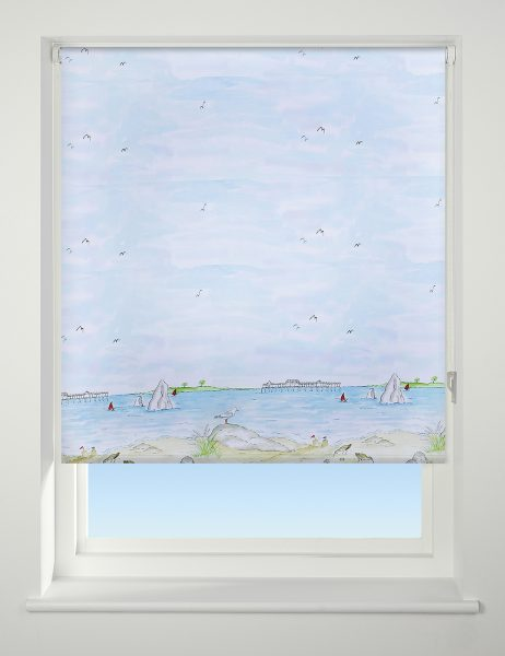 Universal Patterned Daylight Roller Blind Sea View
