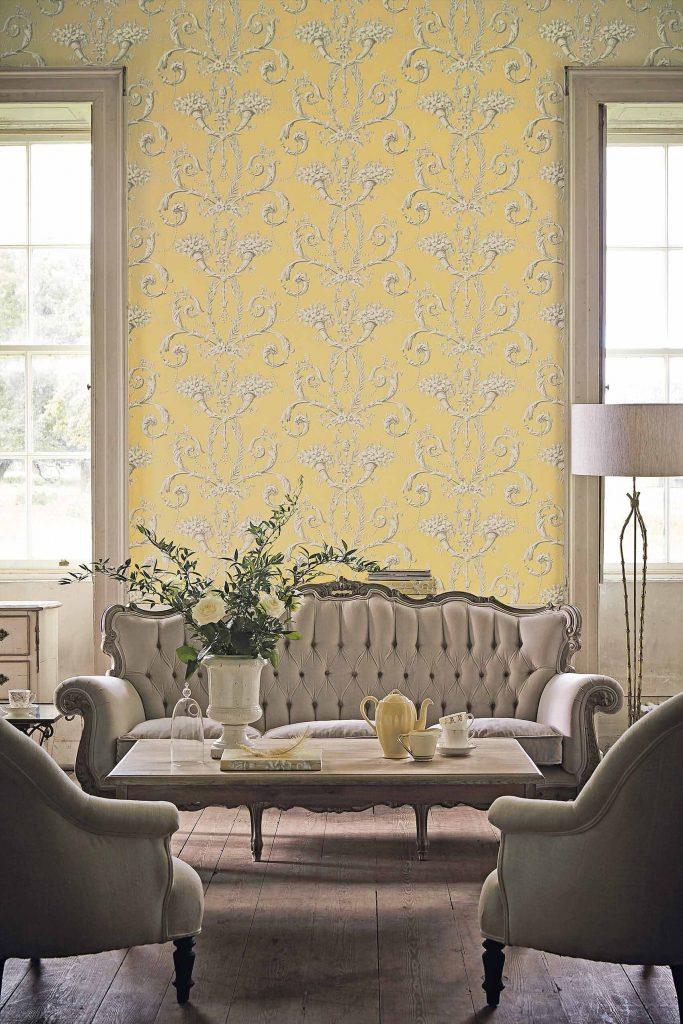 Little Greene Versailles Wallpaper