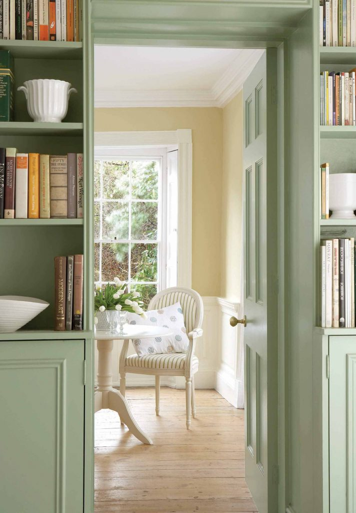 The Little Greene Paint Company White Lead Mid (170)