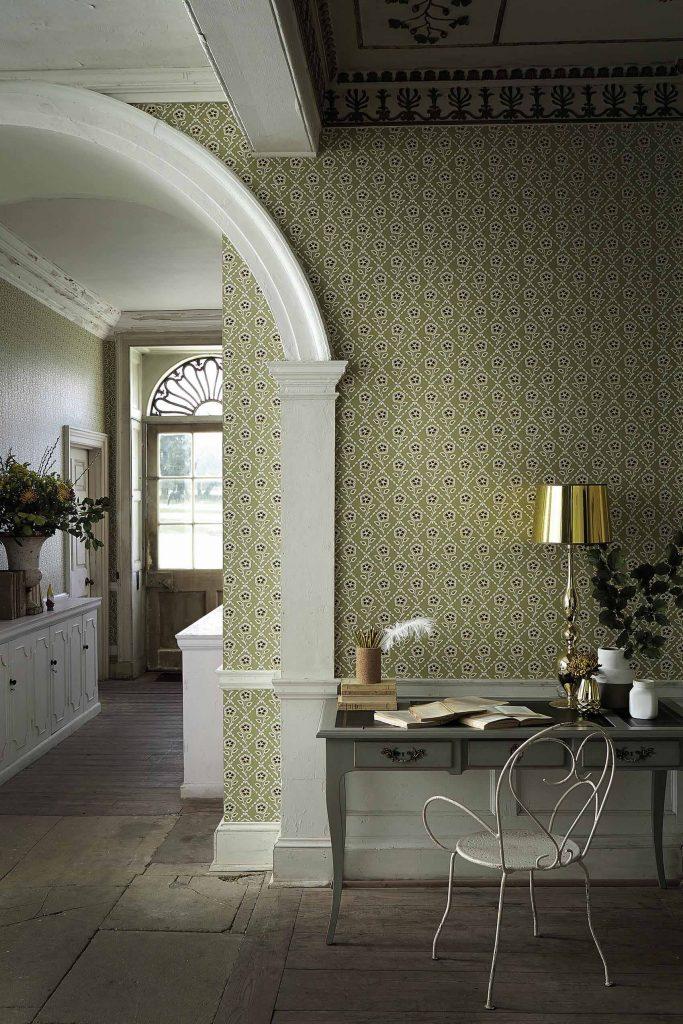 Little Greene Whitehall Wallpaper