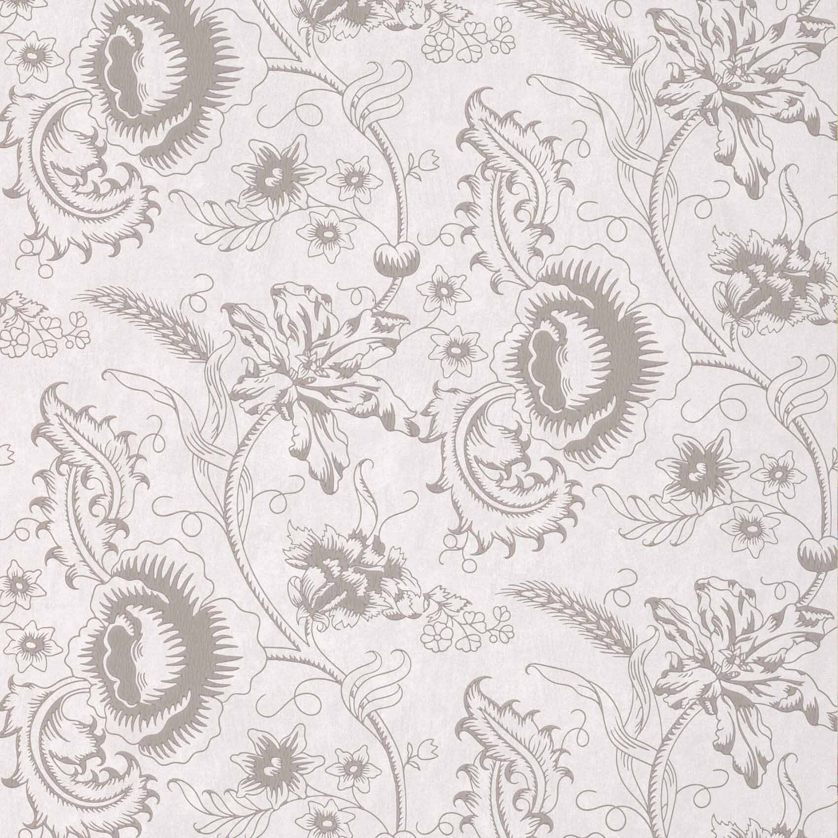 Little Greene Woodblock Mono Wallpaper