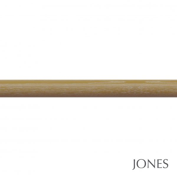 50mm Jones Oakham Curtain Pole honey
