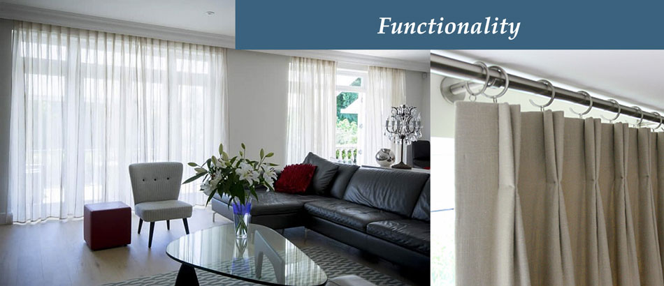 how to choose a curtain pole based on function