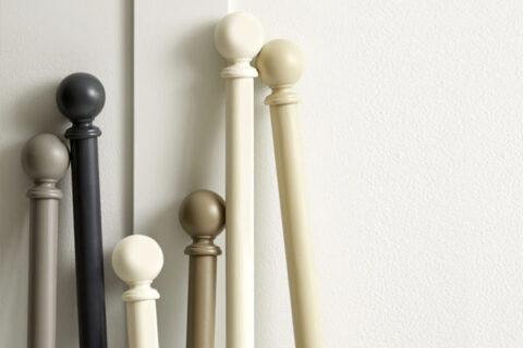 extra long curtain poles