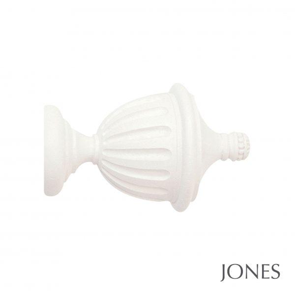 40mm Jones Seychelles Fluted Urn Finial cotton
