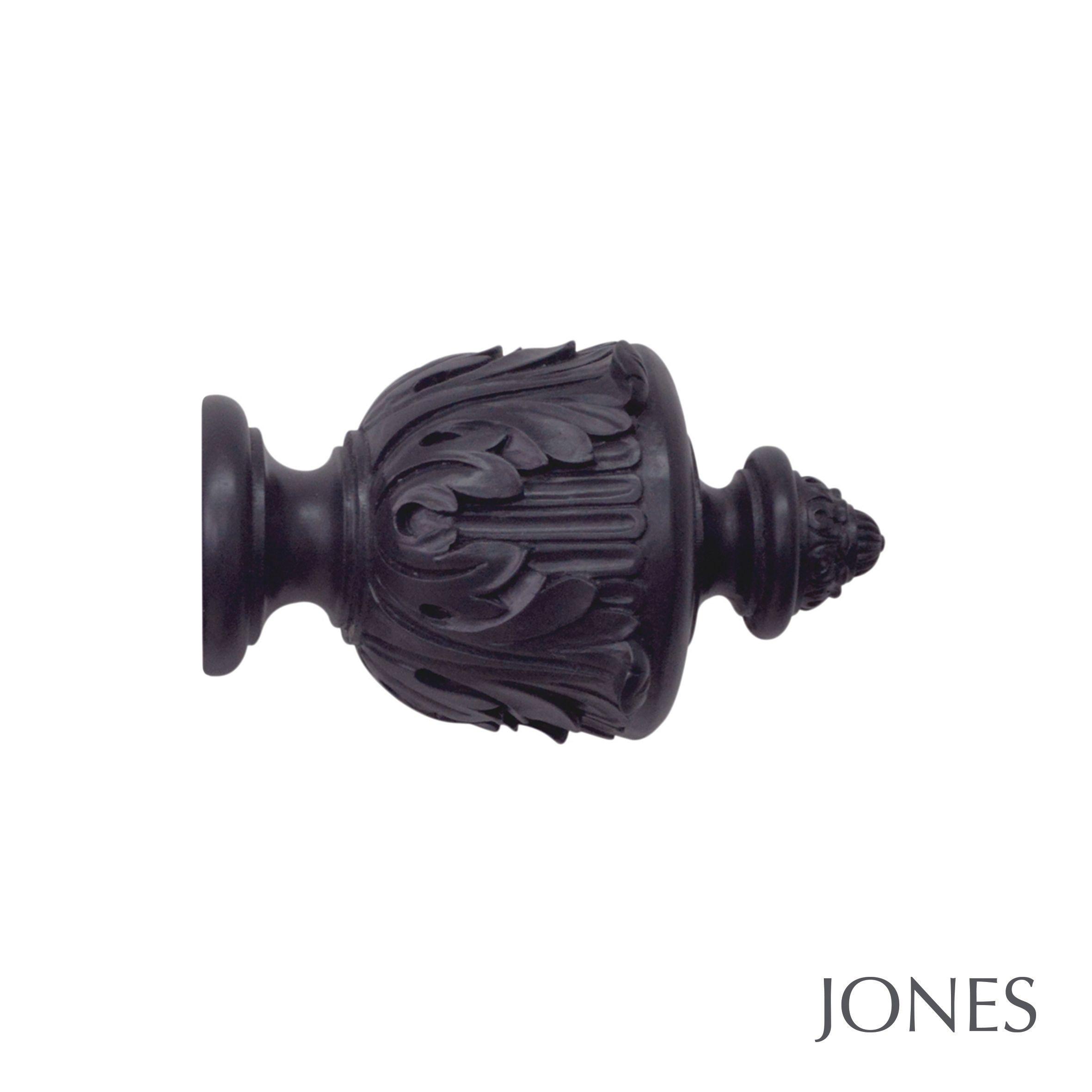 50mm Jones Estate Acanthus Finial juniper