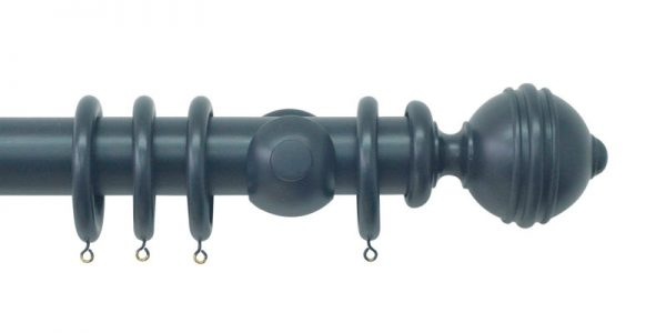 jones estate wooden curtain poles