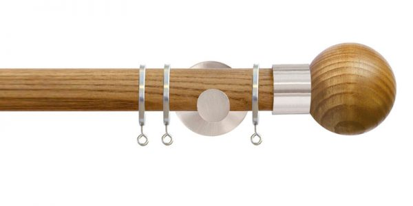 jones strand curtain poles